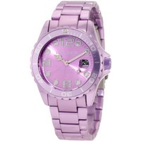 Haurex Italy Women&#x27;s 7K374DLL Ink Lilac Aluminum Watch - designer shoes, handbags, jewelry, watches, and fashion accessories | endless.com