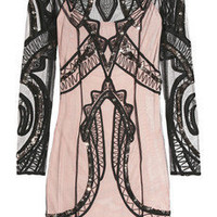 ALICE by Temperley|Sequined mesh dress|NET-A-PORTER.COM