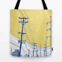 Urban Landscape no.2 Tote Bag by Tony Rodriguez