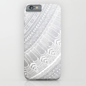 Silver iPhone & iPod Case by Rskinner1122