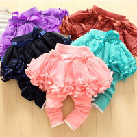 Baby Girl's Lace Tutu Leggings