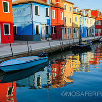 Fine Art Print 12x18 20x30 Photography Venice Burano Travel wall decor