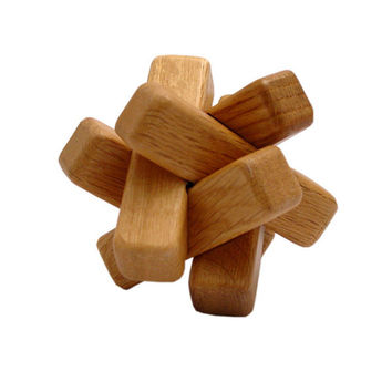 Japanese Wooden Puzzle