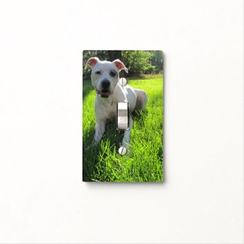 Dog Light Switch Cover