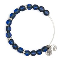 Cobalt Eden Beaded Bangle