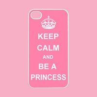 Keep Calm And Be A Princess--iphone.. on Luulla