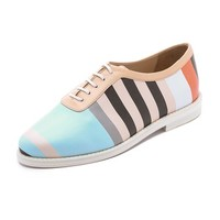 Opening Ceremony Vertical Stripe Oxfords