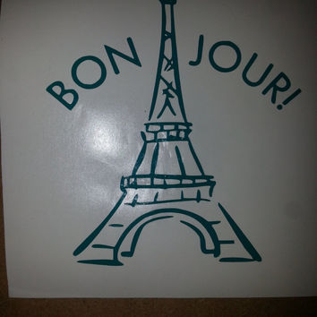 Paris Vinyl Decal