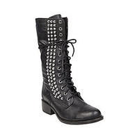 Steve Madden - TROPADOR BLACK LEATHER