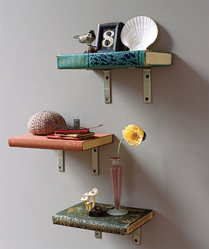 Create Book Shelves | Real Simple