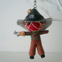 Freddy Krueger voodoo doll string minature key chain, makes great gift or Christmas ornament decoration