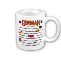 German Coffee mug from Zazzle.com