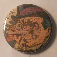 Comic Book 1.5&quot; Button// Penguin