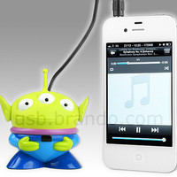 All about USB | USB 3.0, USB Gaming, USB Lifestyle | Brando Workshop : Disney Alien USB Rechargeable Mini Speaker