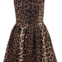 Animal Skater Dress - Dresses  - Clothing