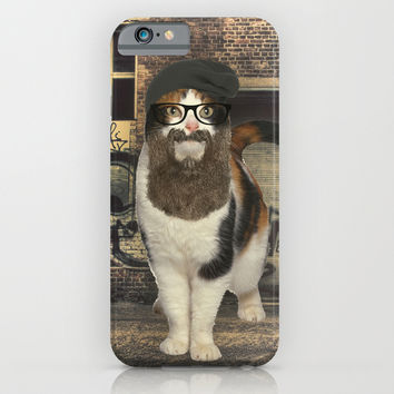 Hipster Cat iPhone & iPod Case by S.Levis