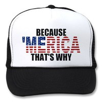 'MERICA US Flag Hat