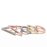 Geometry Ring Set