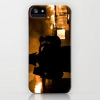 Firefighter-Burning House iPhone Case by Maureen Bates Photography   Society6