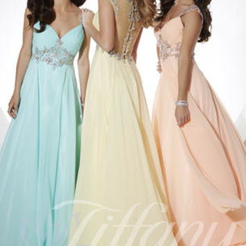 Tiffany Designs 16074 Tiffany Designs Prom Dresses, Evening Dresses and Homecoming Dresses | McHenry | Crystal Lake IL