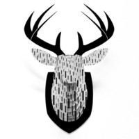 DENY Designs Home Accessories | Lisa Argyropoulos Terrential Faux Deer Mount