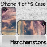 Unique Cloud Custom iPhone 4 or 4S Case Cover