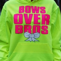 Bows Over Bros Sweatshirt. Bows Over Bros Hoodie. from Evangelina's Closet