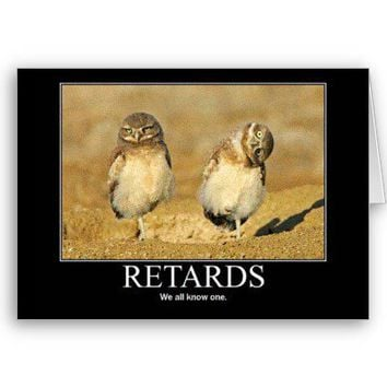retard Card from Zazzle.com