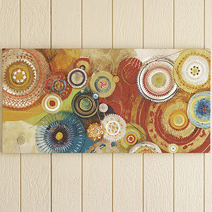 Momentary canvas wall art and decor from cost plus for World market wall decor