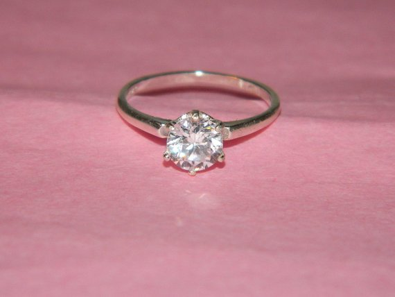 simple promise ring size6 from december67 rings by