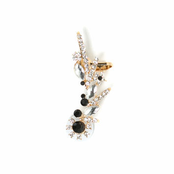 Treasure Hunt Jeweled Ear Cuff