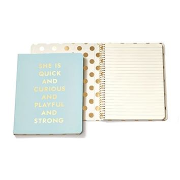 kate spade new york Quick and Curious Spiral Notebook at Von Maur
