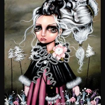 Angora Art Print by Angelina Wrona at Art.com