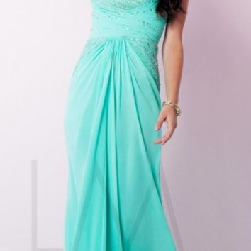 Beaded sweetheart prom dresses by LM Collection