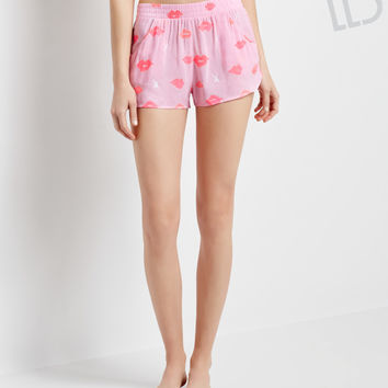 Aeropostale  LLD Lips Sleep Shorts