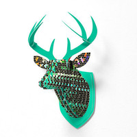 DENY Designs Home Accessories | Lisa Argyropoulos Seekers Faux Deer Mount