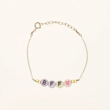 Debbie Harry BFF Bracelet - Gold