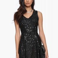 JOA Sequin Dress