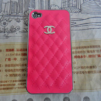 Chanel iphone 4 4S hard Case cover for iPhone 4 Case, iPhone 4S Case,iPhone 4 GS case ,iPhone hand  case cover  -215