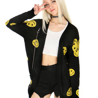 STAY SMILEY CARDIGAN