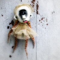 Weird Baby OOAK Art Doll Halloween Decoration Creepy Cyclops Baby Eudora  Island of the MisFit Orphans