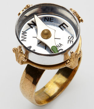 Mini Compass Ring