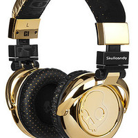 The G.I. Headphones in Gold by Skullcandy | Karmaloop.com - Global Concrete Culture
