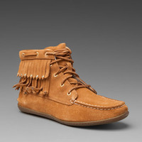 SPERRY TOP-SIDER Brookhaven Bootie in Tan Suede at Revolve Clothing - Free Shipping!