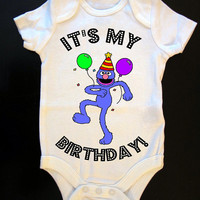 "Grover ""It's My Birthday"" Party Onesuit or Toddler Tee"