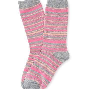Aeropostale  Striped Crew Socks