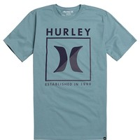 Hurley Forty Five Premium T-Shirt - Mens Tee - Gray