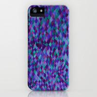 Watercolour Diamonds Plum iPhone Case by Amy Sia | Society6