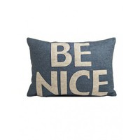 Be Nice Pillow