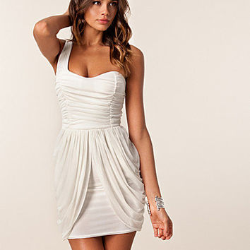 Maya One Shoulder Dress, Te Amo